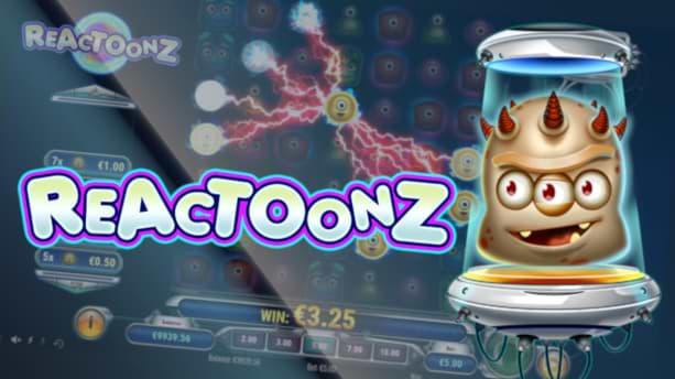 Reactoonz - Online Slot Canada